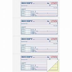 2 part money rent receipt book 200 count walmart com