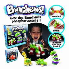 cadeau pour 10 ans de coffret bunchems phosphorescent jeux et jouets spin