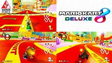 Switch Multiplayer Grand Prix In Mario Kart 8 Deluxe