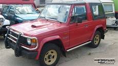 best auto repair manual 1988 mitsubishi pajero parking system 1989 mitsubishi pajero 2500 turbo car photo and specs