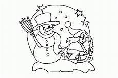 winterkugel ausmalbild malvorlage winterbilder
