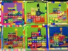 Malvorlage Hundertwasser Haus With Hundertwasser Project For