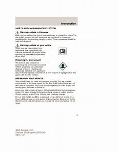 download car manuals pdf free 2008 ford expedition lane departure warning 2008 ford escape owners manual