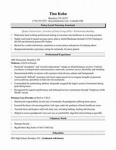 nursing assistant resume sle monster com