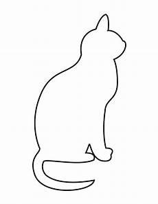 simple cat stencil gif 670 215 867 cat quilt quilts cats