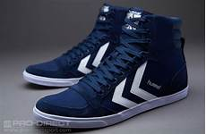 hummel slimmer stadil high canvas mens select footwear