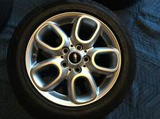mini cooper oem 16 inch rims with hankook tires mini