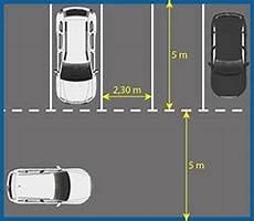 dimension place de stationnement stationnement et places de parking seton belgique