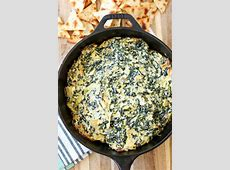 delicious baked artichoke spinach dip_image