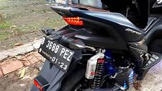 Aerox Modif Simple by Modifikasi Simple Yamaha Aerox 155 Carbon Scortaly Co