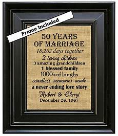 special gift for wedding anniversary framed personalized 50 anniversary gift 50th anniversary