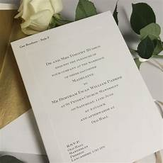 folded wedding invitations wedding stationery