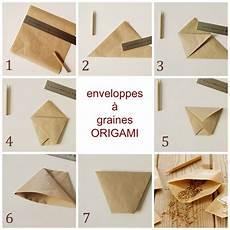 comment faire des enveloppes enveloppes a graines en origami sachet origami et potager