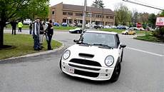 mini cooper tuning ford gt and turbo mini cooper s pulling up to kaizen