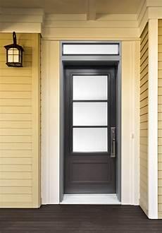 porte exterieur sur mesure porte d acier contemporaine imposte rectangle portatec