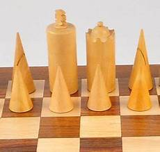 Modern Carved Chess Set Mid Century And Cool Chess