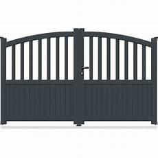 portail en fer 4 metres pas cher portail aluminium bomb 233 semi ajour 233 bomb 233 cl02 portail