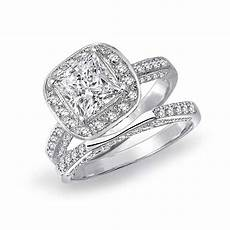 2020 latest square cut diamond wedding bands