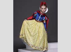 2019 New puff sleeve Snow White girl Dress Child fancy