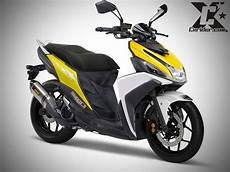 Modifikasi Motor Mio M3 by Konsep Modifikasi Yamaha Mio M3 Simple Maticfighter