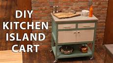 Kitchen Island Cart Diy by Diy Kitchen Island Cart With A Concrete Top