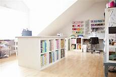 attic turned craft room such a great idea finished attic