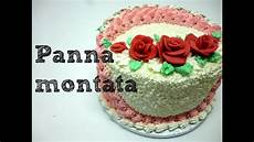 torte di compleanno decorate con panna montata torta decorata con panna montata by italiancakes youtube