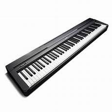yamaha p45 compact p series digital piano in black ebay