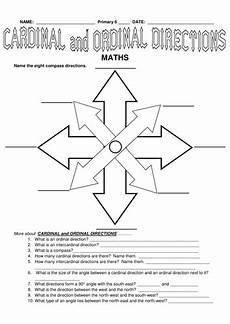 ks2 cardinal and ordinal directions teaching resources