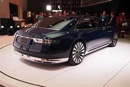 New York 2015 Lincoln Continental Concept Live Photos