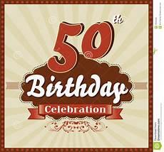 Carte Invitation Anniversaire 50 Ans Carte Invitation