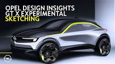 Opel Gt X Experimental Design Insights Live Sketching