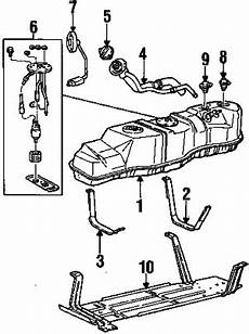 1997 Ford F 150 Xlt 8 Cyl 4 6l Fuel System Components