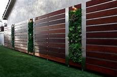 Gartenabtrennung Zum Nachbarn - stain fence landscape contemporary with vertical garden