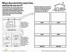 electricity sources and functions worksheet education com