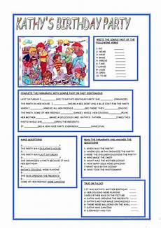 birthday celebration worksheets 20208 kathy s birthday worksheets for worksheets worksheets for