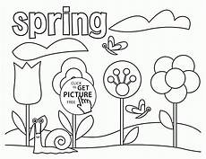 coloring page for seasons coloring pages