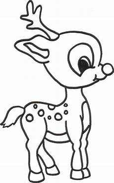 free printable reindeer coloring pages for