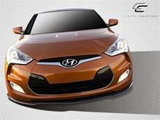 Carbone Hyundai by Front Lip Add On Kit For 2012 Hyundai Veloster 2012