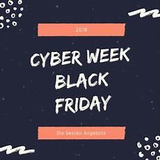 angebote und rabatte zur cyber week und black friday 2018