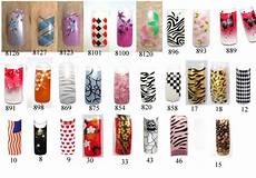 6 pre designed nail tips woman fashion nicepricesell com