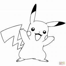 Malvorlagen Pikachu Pok 233 Mon Go Pikachu Celebrating Coloring Page Free