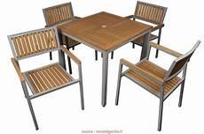 tavoli e sedie da giardino usati locale 6 set tavolo e sedie da giardino economici jake