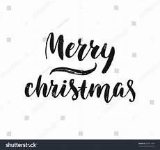 merry christmas greeting card black white stock vector 487011940