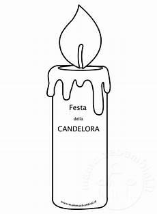 candela disegno festa della candelora disegno da stare mamma e bambini
