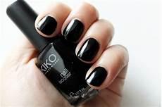 nail black manucure la palatine
