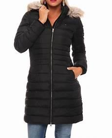 hilfiger basic damen winter jacke coat mantel