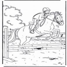 17 new ausmalbilder pferde springreiten