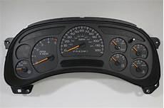 buy car manuals 2006 chevrolet silverado 2500 instrument cluster new 2006 oem gm silverado or sierra duramax diesel speedometer gauge cluster ipc ebay
