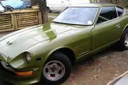 Datsun 240Z  Classic Sports Car 2 Door 1973 L Avocado
